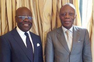 Congo-Brazzaville : L'hommage du Général Jean-Marie Michel Mokoko à Marc Mapingou.