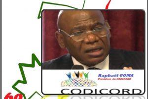 Message du CODICORD pour le 15 Août 2020