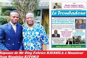 Jean Stanislas KITOKO sur l'UDH-YUKI, une marque de l'expression de la bêtise au Congo-Brazzaville.