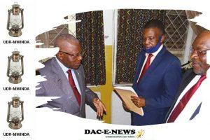 VIE DES PARTIS : Bonaventure Mbaya réintègre l'UDR-Mwinda