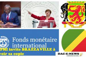Le FMI invite BRAZZAVILLE à revoir sa copie