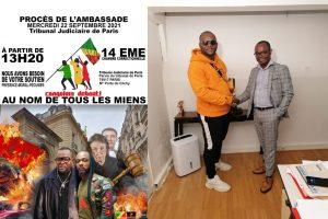 Procès sur l'incendie à l'ambassade du Congo en France : Le Parquet de Paris requiert 3 ans d'emprisonnement ferme contre les activistes congolais.