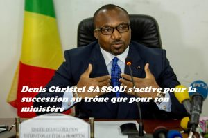 Denis Christel Sassou Nguesso transforme son ministère en état-major pour la course à la succession