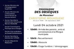 Congo Brazzaville: Adieu Sécrégal, Adieu Christophe