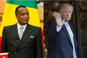 Congo Brazzaville, le président Sassou lâché par Trump