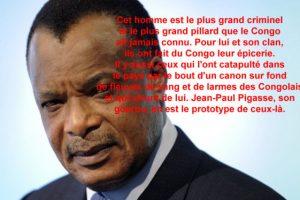 Le mal être du CONGO-BRAZZAVILLE: le cancer généralisé de Sassou-Nguesso et son clan!