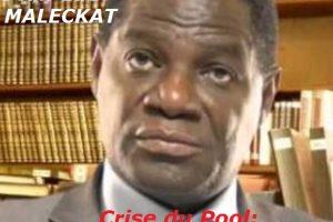 Jean-Luc MALECKAT Crise du Pool:  Accord boiteux