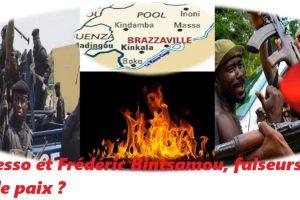 Sassou Nguesso et Frédéric Bintsamou, faiseurs de guerre et faiseurs de paix