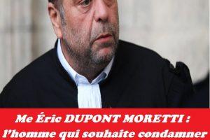 Me Éric DUPONT MORETTI : l'homme qui souhaite condamner le peuple congolais à l'extermination clanique