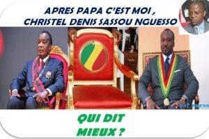 Jean-Dominique Okemba (JDO) contre Denis Christel Sassou-Nguesso (KIKI), le mano à mano continue pour préparer l'après-Sassou