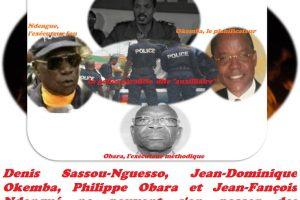 Denis Sassou-Nguesso, Jean-Dominique Okemba, Philippe Obara et Jean-Fançois Ndengué ne peuvent s'en passer des prestations sinistres de ces milices privées.
