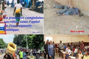 La jeunesse congolaise sacrifiée sous l'autel de l'escroquerie politique.