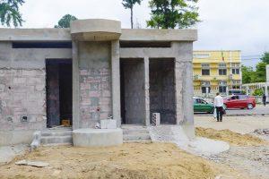 Construction des toilettes publiques au Congo