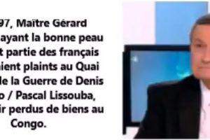 Me Gérard Devillers, avocat de Denis Sassou Nguesso a manqué une occasion de se taire.