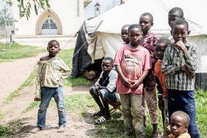 Philip Kleinfeld / IRIN Personnes déplacées à Kinkala, capitale de la région du Pool