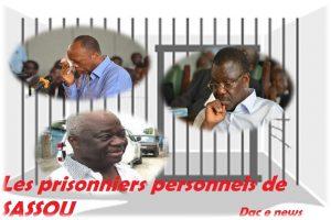 Prisonniers Personnels de sassou