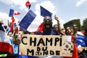 La France championne du monde : «Je peux mourir tranquille, maintenant»