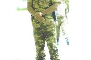 l'officier supérieur Ferdinand MBAOU
