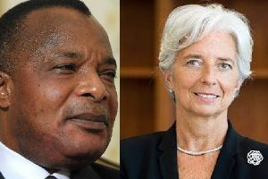 Sassou-Nguesso et Christine Lagarde