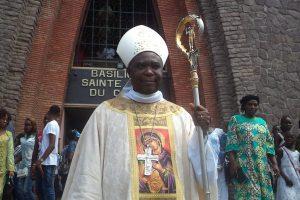 Monseigneur Daniel MIZONZO,  Évêque de Nkayi,