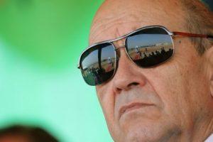 Le chef de la diplomatie française Jean-Yves Le Drian. (LUDOVIC MARIN / POOL / AFP)