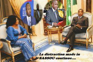 La distraction Made in SASSOU se poursuit...