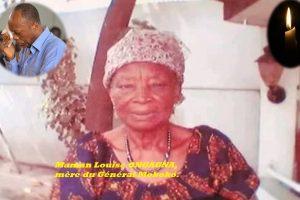 Congo Brazzaville: Décès de Maman Louise ONGAGNA, mère du Général Mokoko.