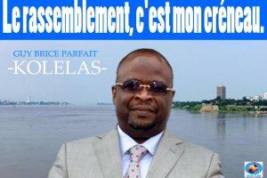 Guy Brice Parfait KOLELAS n'a aucun problème avec aucun membre de l'opposition Congolaise!