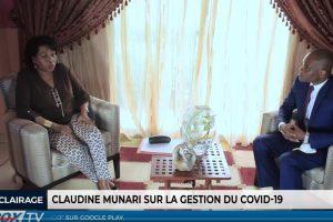 Claudine Munari s'exprime sur la gestion de la crise due au Covid-19