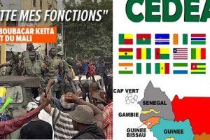 Les réactions indignes de la France et de la CEDEAO sur la révolution malienne.