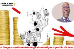 Le Congo a raté son décollage économique à partir de 2012.