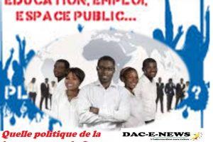 Quelle politique de la jeunesse pour le Congo.
