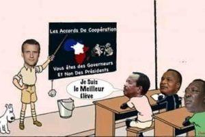 Monsieur Emmanuel Macron, l'ami des dictateurs africains.