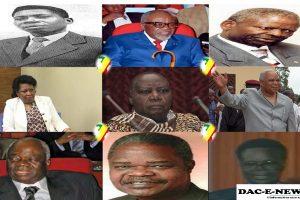LA VERSATILITÉ POLITIQUE AU CONGO-BRAZZAVILLE DE 1956 JUSQU'À NOS JOURS .