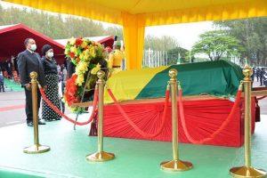 Homélie de la messe des obsèques du Général Jacques Joachim Yhomby-Opango.