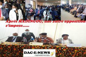 Après MADINGOU, une autre opposition s'impose……
