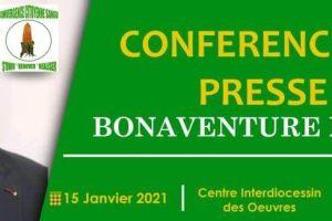 Bonaventure MBAYA, candidat à l'Election présidentielle de mars 2021