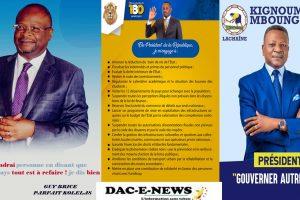 LES QUELQUES MESURES DES TROIS CANDIDATS A LA PRÉSIDENTIELLE DU 21 MARS 2021 AU CONGO