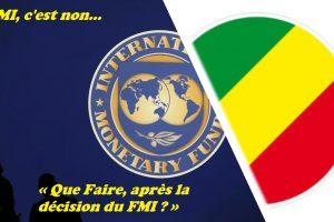 « Que Faire, après la décision du FMI ? »