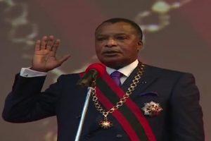 Le couronnement de l'Empereur Sassou Nguesso Ierau Congo-Brazzaville.