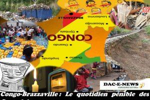 Congo-Brazzaville: Le quotidien pénible des Congolais.