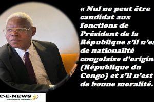 Congo-Brazzaville- COMMUNIQUE : Denis Sassou Nguesso n'est pas le Congo